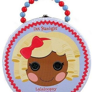 Lalaloopsy Round Tin Hat Box Carry All Hatbox - Do